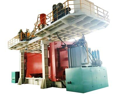 5000L water tank blow molding machine