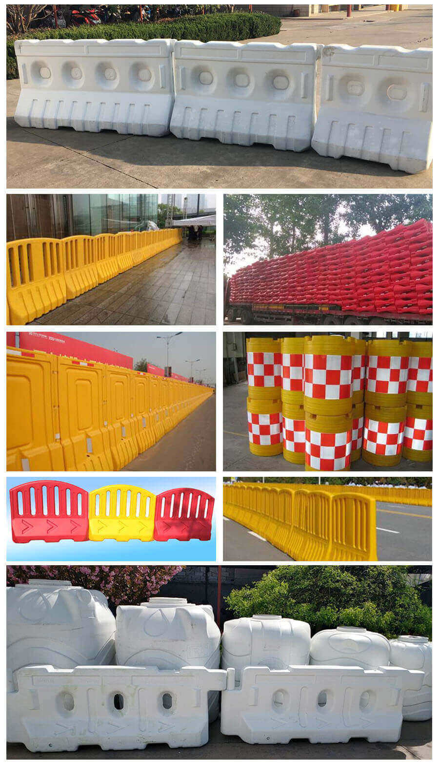 road barrier application