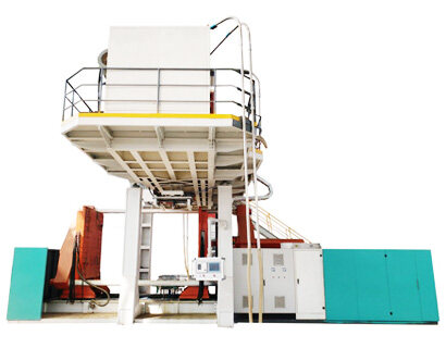 floating dock blow molding machine