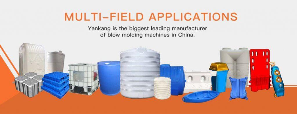 yankang plastic extrusion blow molding machine application