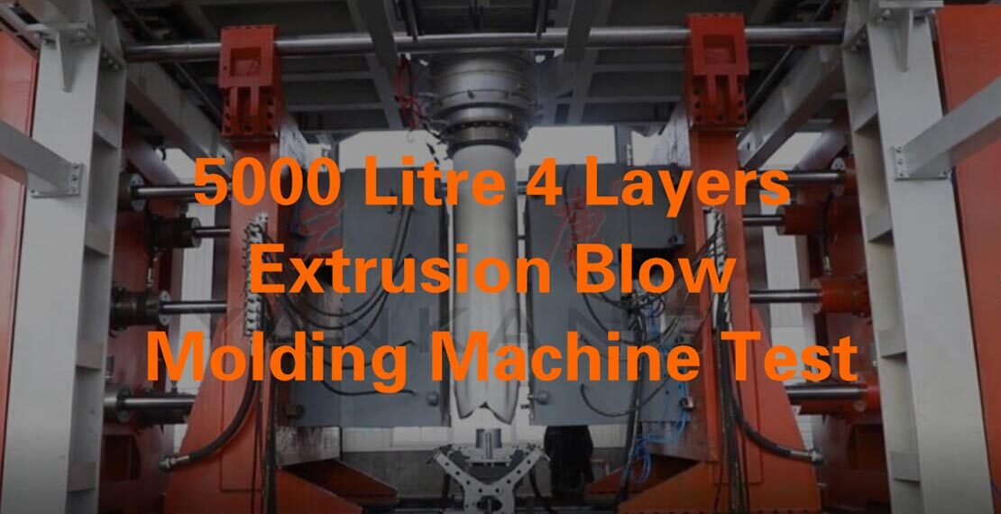 extrusion blow molding machine test