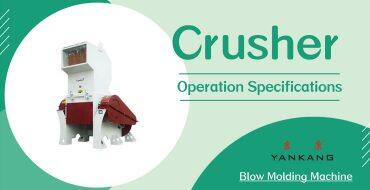 crusher operation specifications