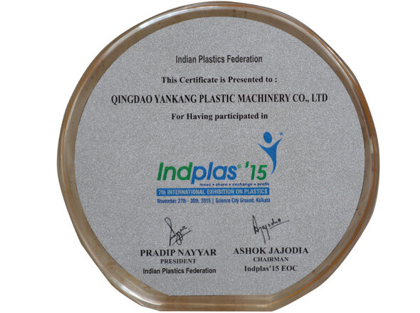 Yankang honor India Plastics Federation