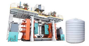 20000L water tank blow molding machine
