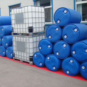 IBC tank and double ring drum