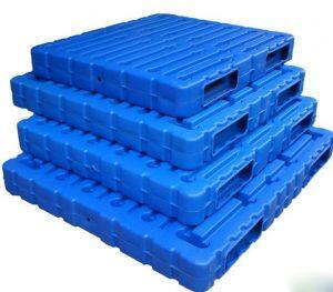blow molded pallets