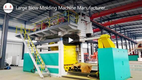 blow molding machines video