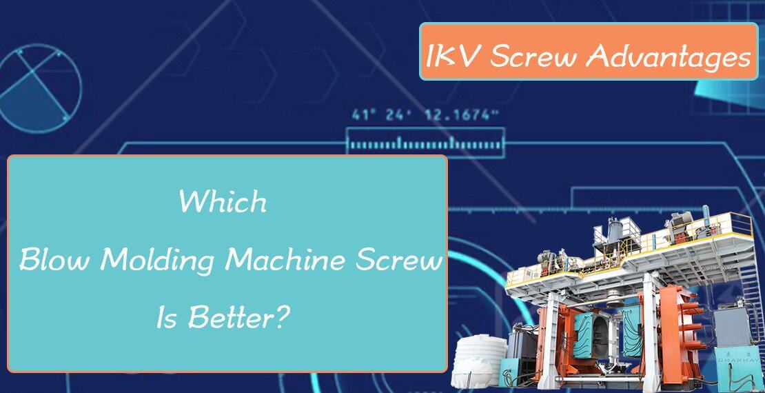 blow molding machine screw