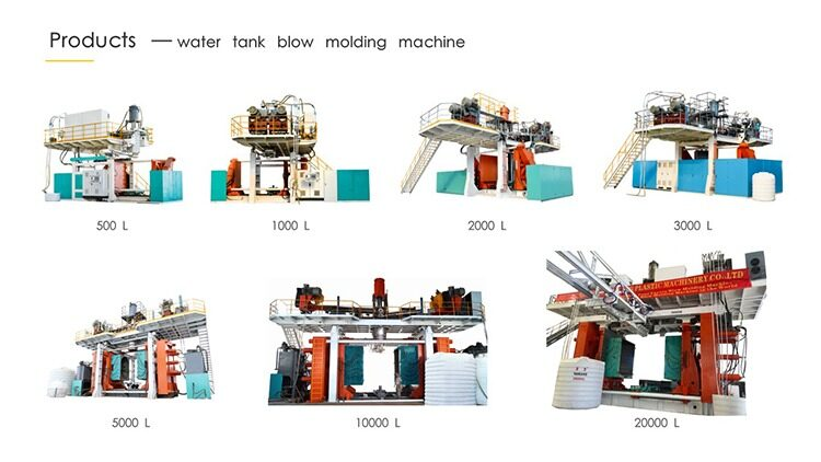 price of the blow molding machine