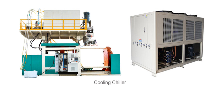 blow molding machine auxiliary machine cooling chiller