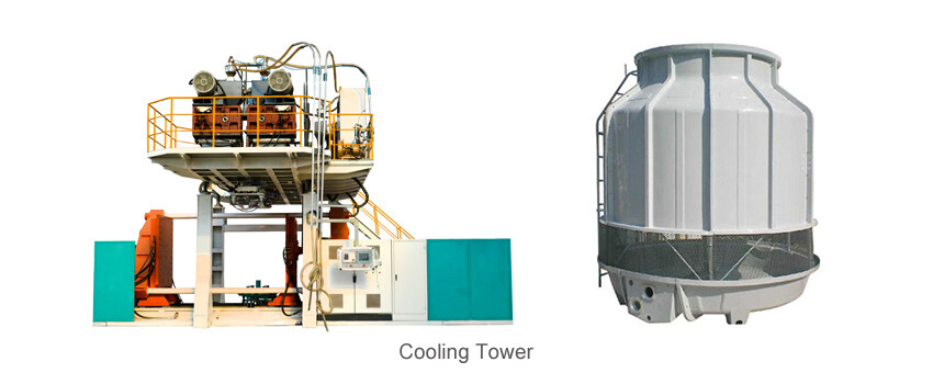 blow molding machine auxiliary machine cooling tower
