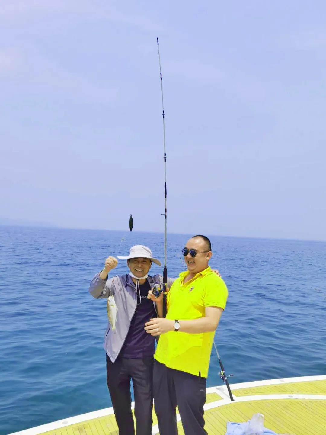 Yankang-Group: The-First-Executive-Team-Building-Activity-in-2020-Sea-fishing